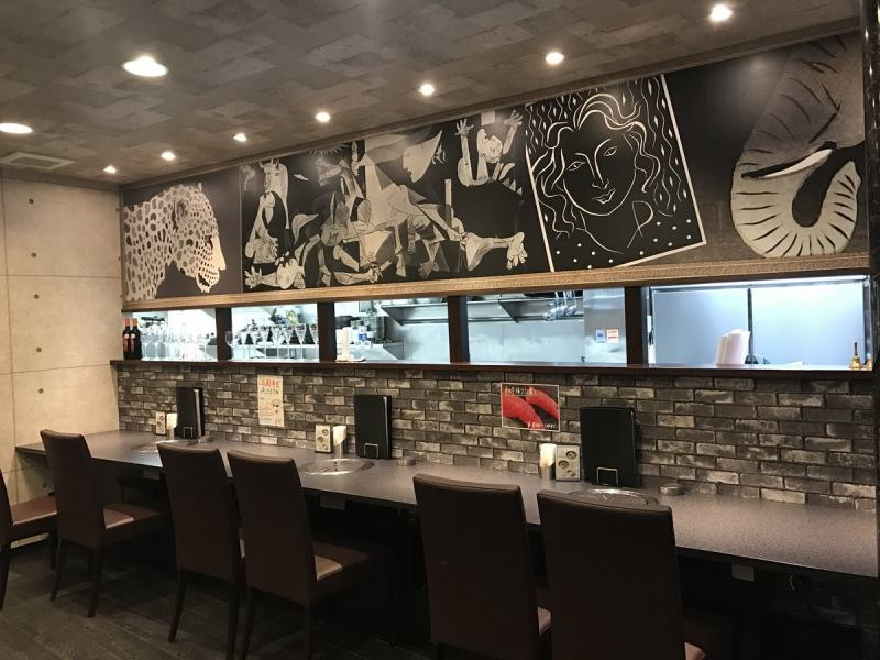 【Counter table seats】 We also recommend counter seat for one person or couple. We can reserve from 20 people in the shop ♪ We accept reservations from 20 people up to 40 people. Banquet / Farewell reception party!