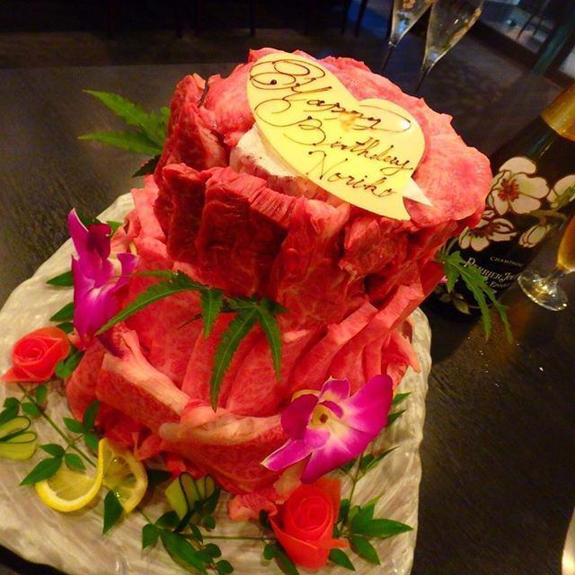 ★ Meat cake ★ We are offering it specially by advance booking up to 3 days in advance.Please do not use on an anniversary with important people.