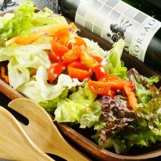 Raising salad