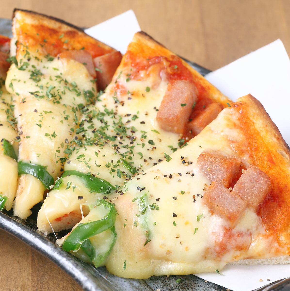 混合比薩餅