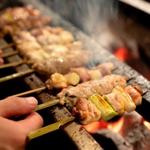 鶏料理専門店【鳥元】宴会、飲み放題プラン充実!各種ご宴会のご予約承ります!