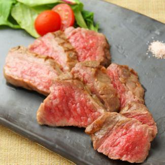 黒毛和牛のステーキ(150g)