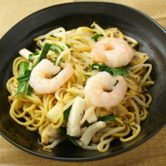 泰式海鮮炒麵
