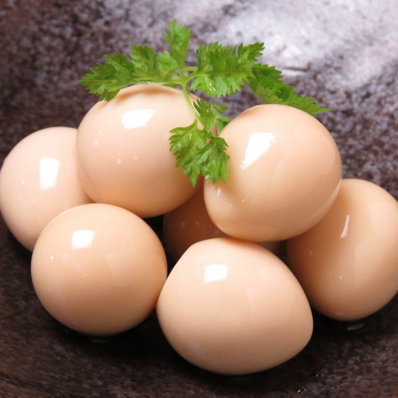 메추라기 달걀 피클