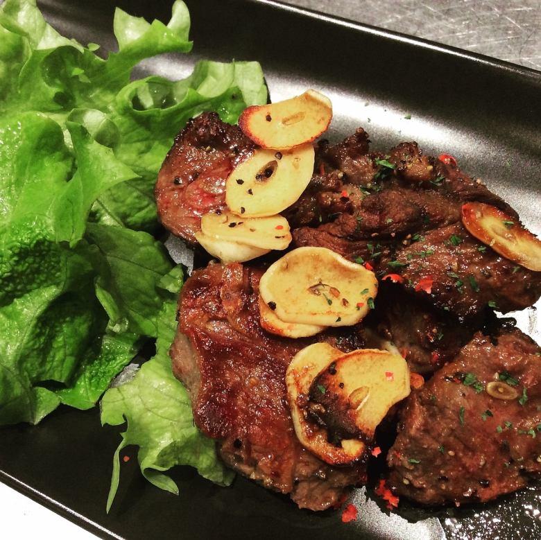 骰子胡椒牛肉