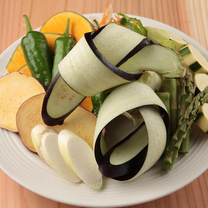 焼野菜盛り