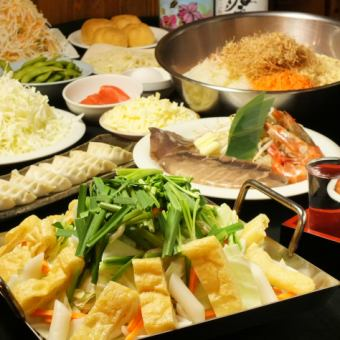 Recommended for the year-end party! The body warms up hot! Cheese Tacalcabie course 【2800 yen】