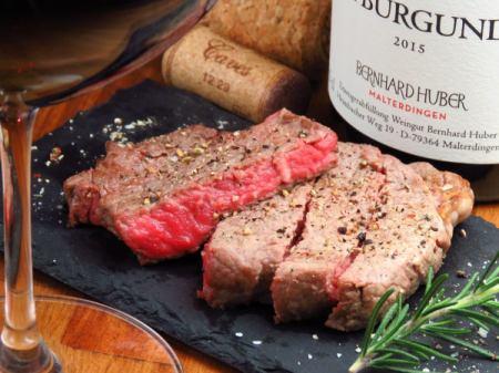肉料理とワインのマリアージュ