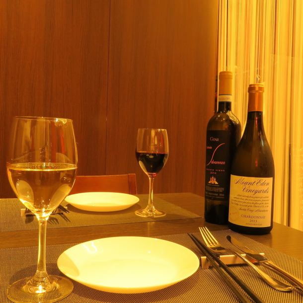 Special single room with OK for up to 8 people per day only.A lot of luxurious cuisine is useful in entertainment and the like.Please enjoy the service like a hotel in a private room where you do not care about the surroundings.[Okayama / Okayama Station / Okayama City / All-you-can-drink / Italian / Bar / Private Room / Birthday / Anniversary / Women's Association / Meat / Fish / Night Scenery / Uni / Truffle]