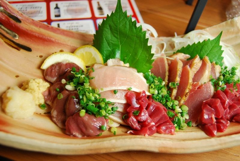 Dissolving every morning! Oyama chicken sashimi