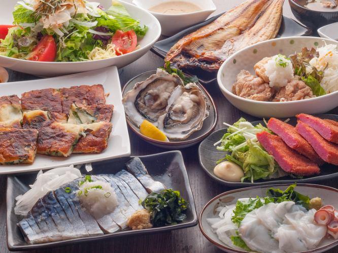◆料理9道菜和2H你可以用4000日元◆喝挤压所有元气的!热门产品TOP3全中[全明星课程]