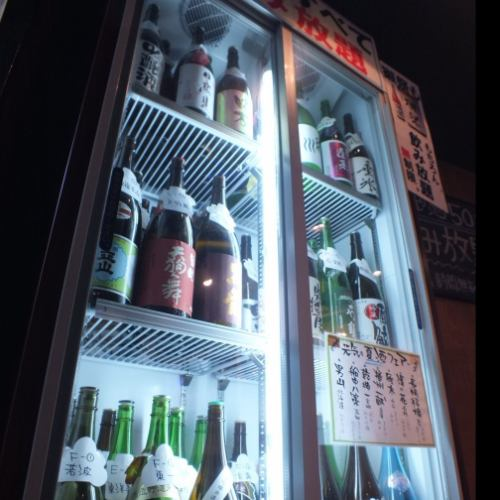 All-you-can-eat drinks about 60 brands containing sake festival!