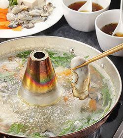 【所有可以吃生牡蛎涮锅】+【包含5种菜肴】2月限定计划!现在3000日元!