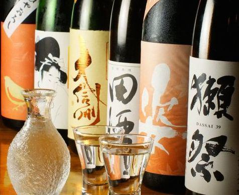 【All-you-can-drink sake】 60 festival, Black dragon, Kuheiji next etc.! 1 hour 1,500 yen!