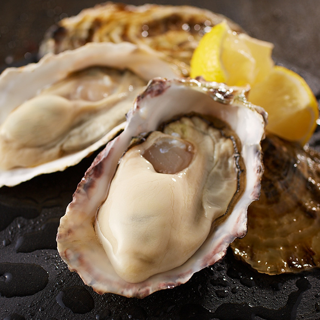 Raw oysters throughout the country [We are attracting the season of today!]