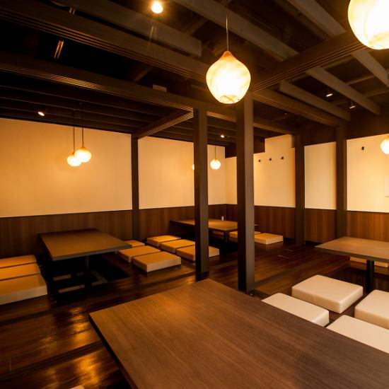 Japanese tavern that can enjoy the delicious luxury seafood cuisine of Hokkaido in the relaxation of private room