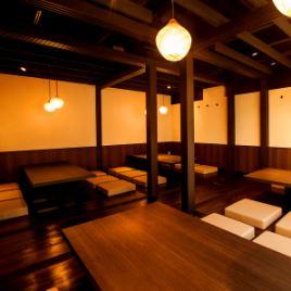 【全席個室】当店は可動式の壁で仕切られているため、人数に合わせてお部屋をご用意致します。10名~最大23名様迄可能でございます。