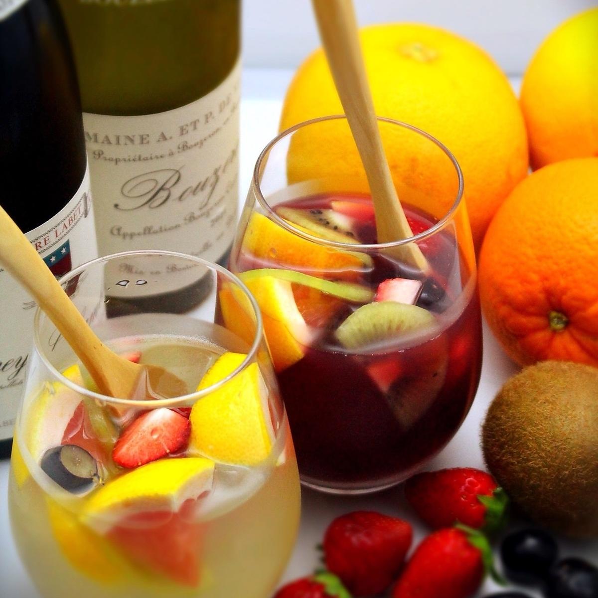 Plenty of fruits Sangria