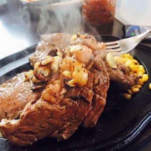 1 pound steak (450 g)