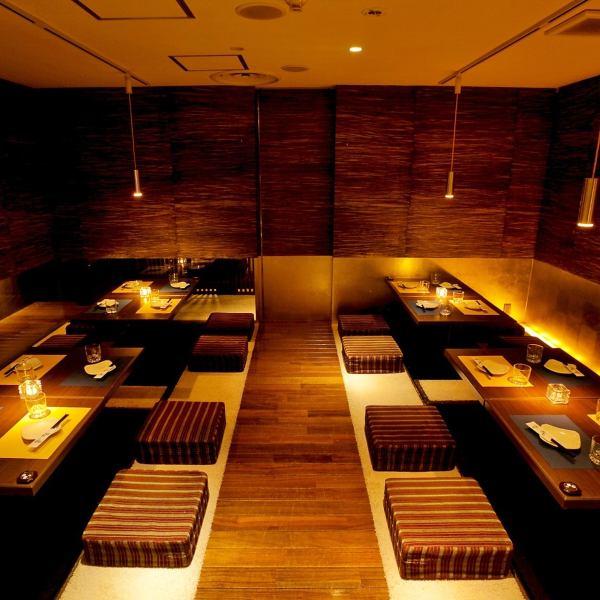 【新开放】日式现代私人房间空间优雅气氛♪Ichioshi的VIP私人房间可用!妇女协会,生日派对,欢送会,宴会的各种场景◎课程预订免费秘书,帐户折扣,特别每天分发礼品券如霍尔蛋糕礼品♪