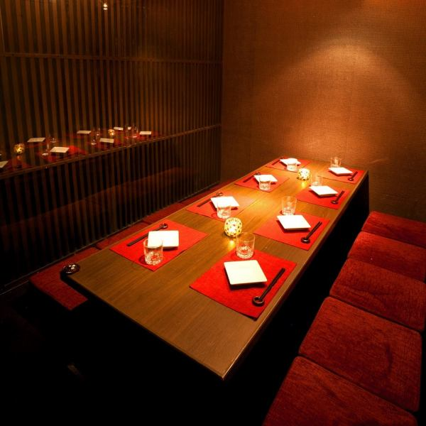 【NEW OPEN】 Stylish space supervised by a famous designer ★ Dressing room is a birthday party · Girls' party · Gongcon · Farewell party · Banquet etc. Whatever the scene it is adds! Course with unlimited drinks is available from 2980 yen ~ Various preparations! We have gorgeous contents using seasonal ingredients such as authentic tempura luxuriously.
