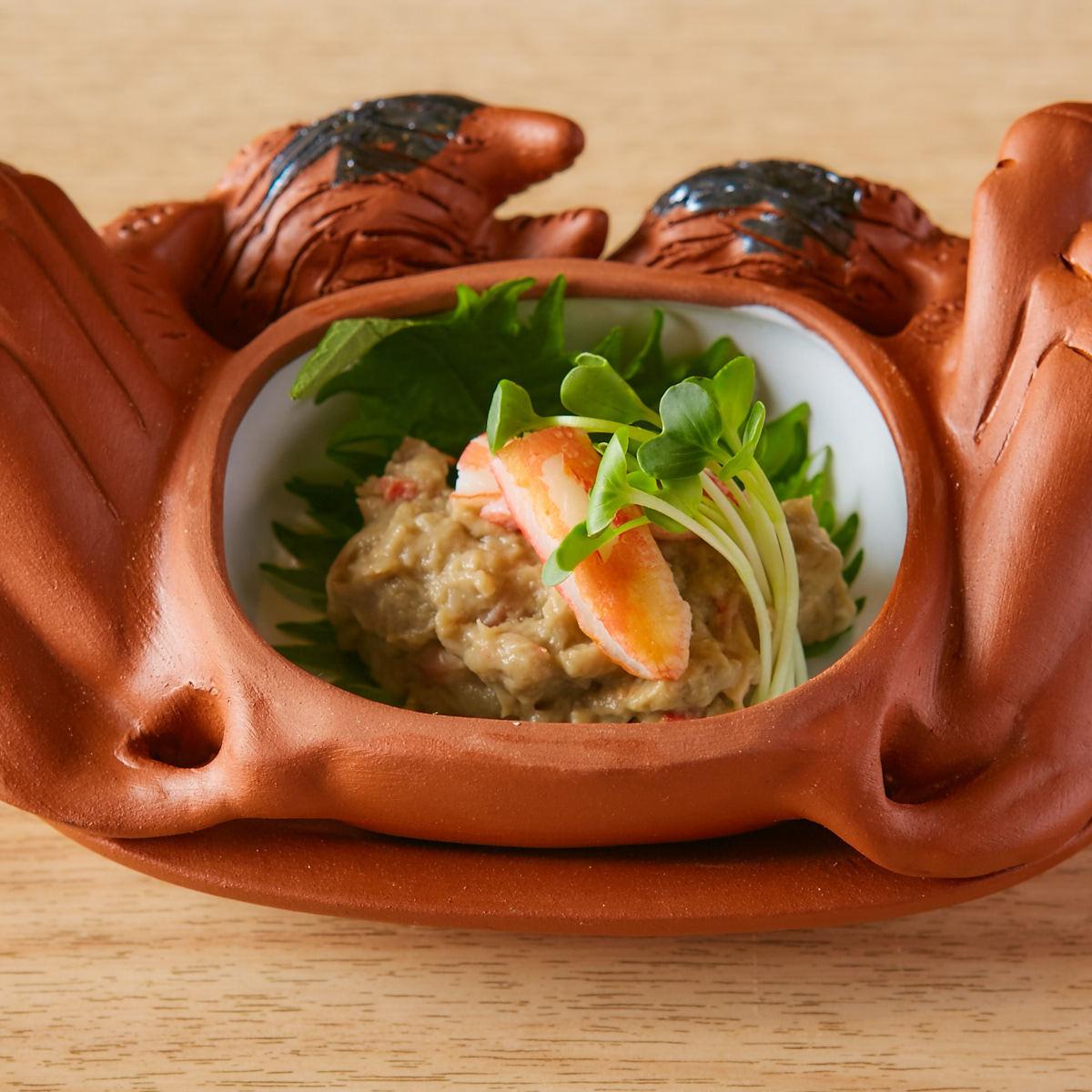 蟹和蟹味噌
