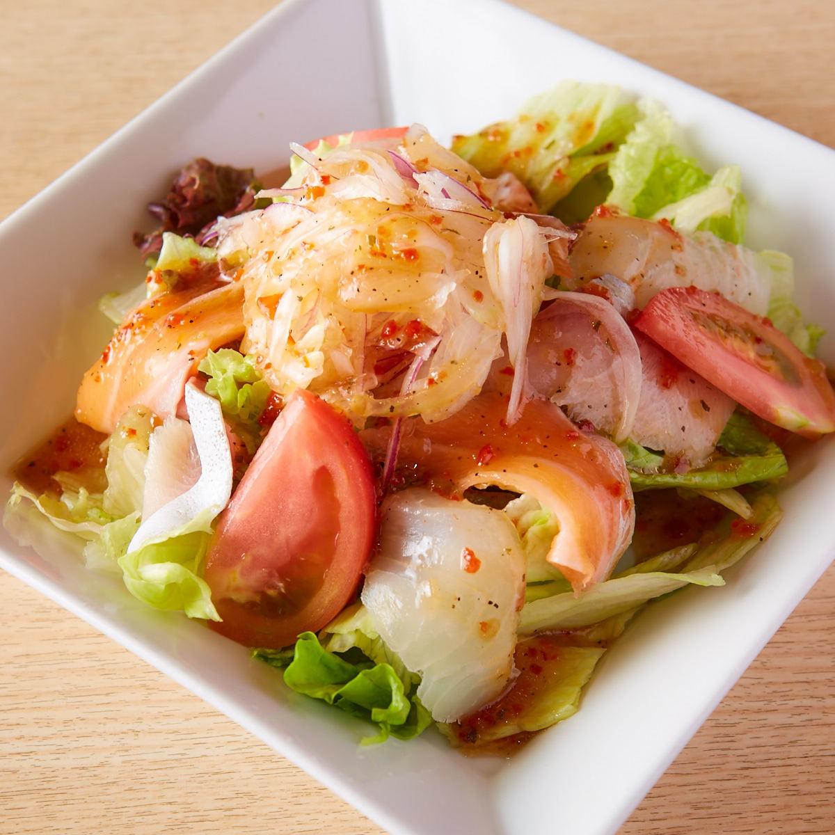 海鲜樱桃沙拉沙拉味