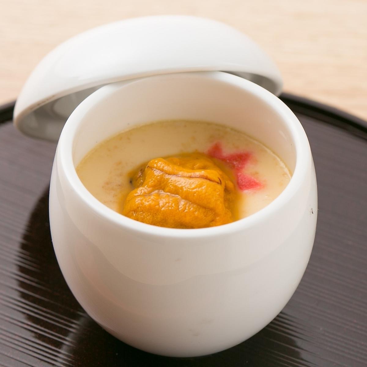Choyu蘑菇蒸鳕鱼子