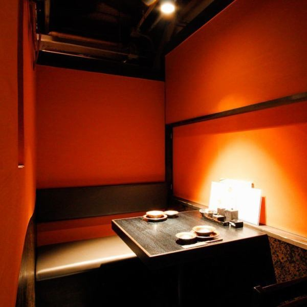 In an unusual shop that imagined the separation standing in the crowd of Ikebukuro.We will guide all guests from 2 people to the private room.Private room for 2 people is perfect for date.Please enjoy yourself while enjoying the fresh cuisine and drinks you are proud of.
