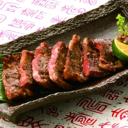 Sendai specialty beef tongue grilled salt