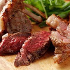 グリル薪窯で焼き上げる肉料理とイタリア各地の伝統料理が楽しめる路地裏イタリアン!