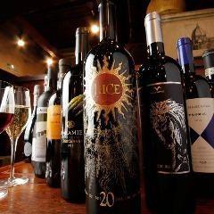 イタリア各地のワインを料理に合わせてお楽しみください