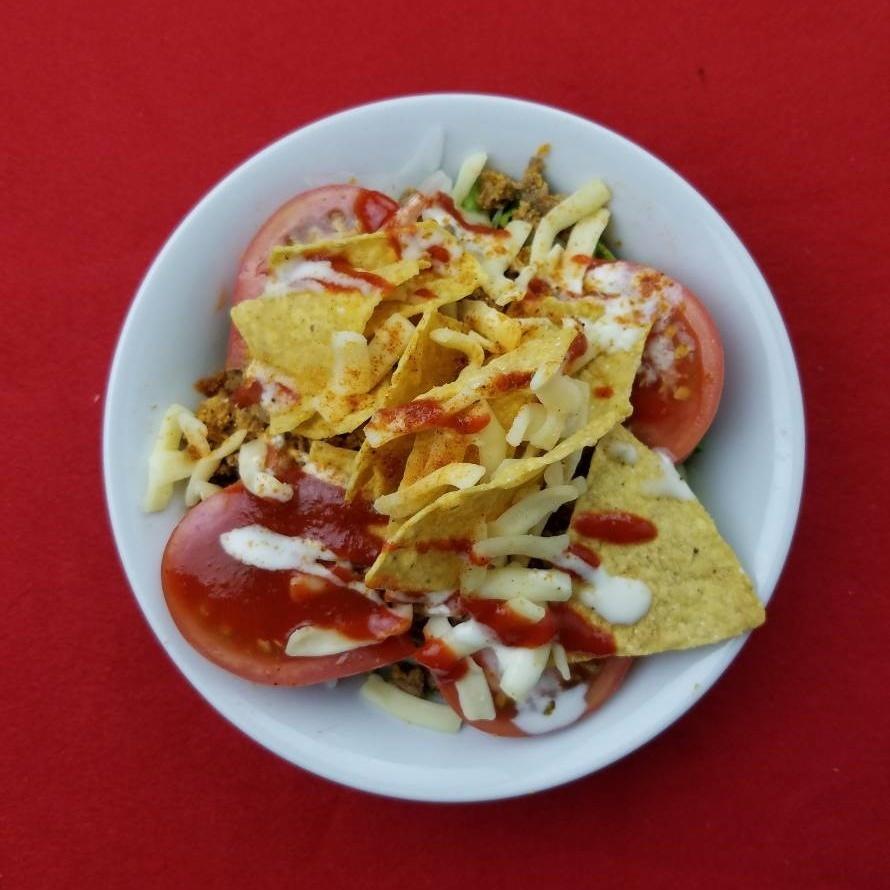 멕시칸 타코 샐러드