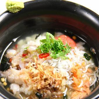 茶泡飯......魚子飯用綠茶//梅飯綠茶/ enokidake蘑菇飯綠茶/是綠茶大米的硬度