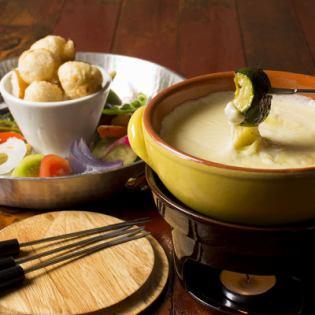 奶酪fondu