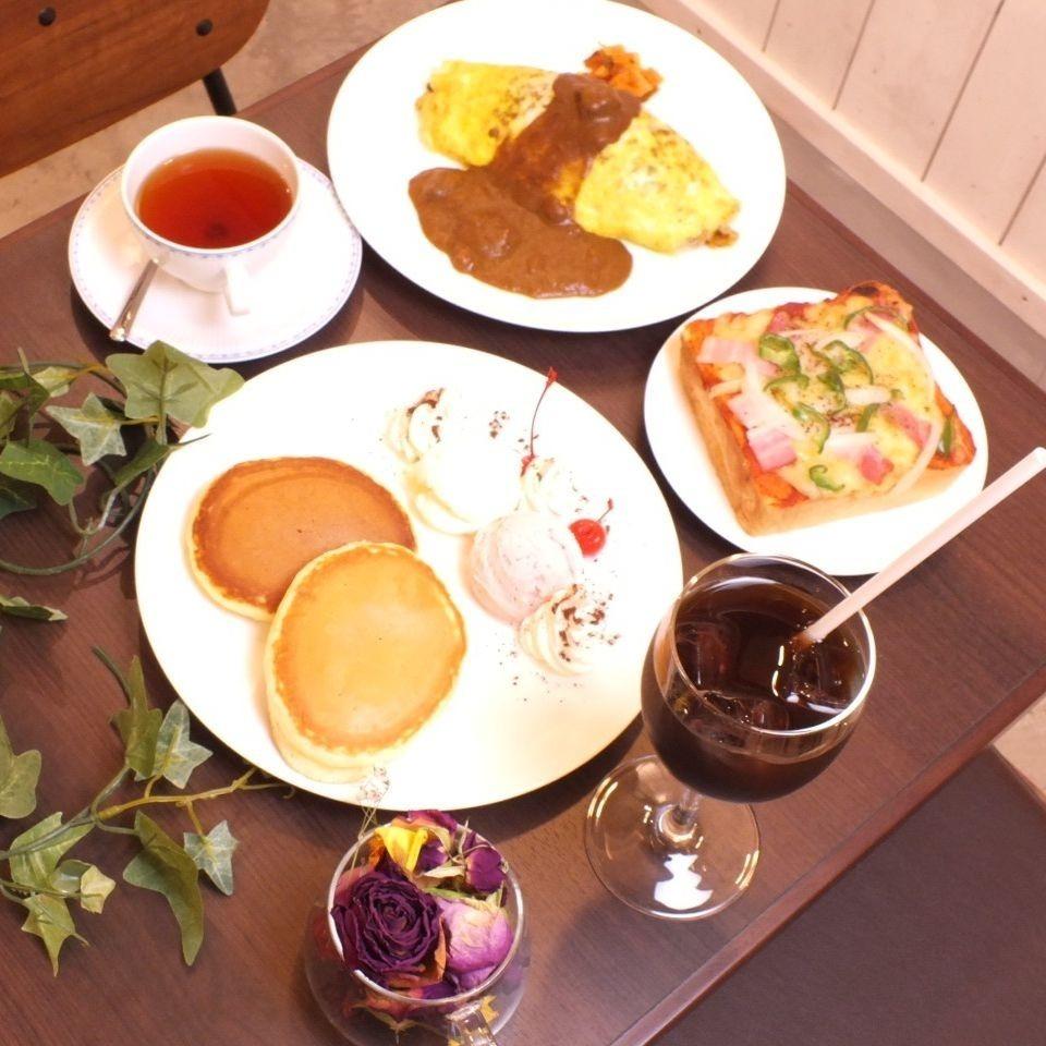 【店主从不粘豆的咖啡】食品菜单和套餐的优惠!