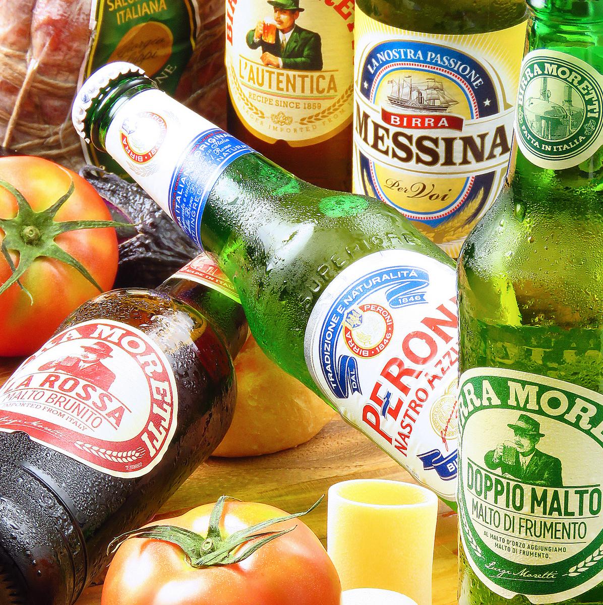 술 맛이 상쾌한 이탈리아 맥주 입하했습니다 !!