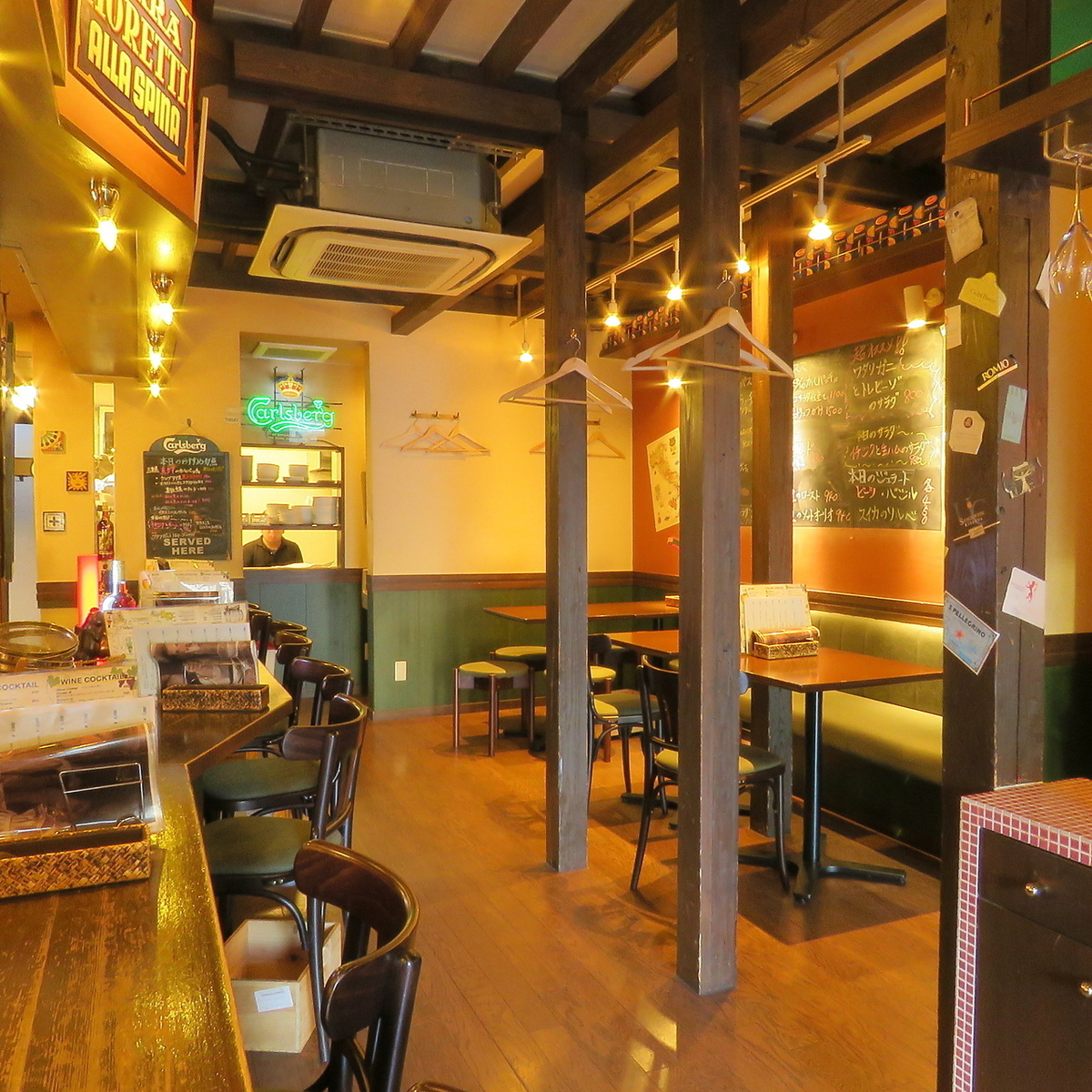 【1F】 Spacious space is also recommended for private Party ★
