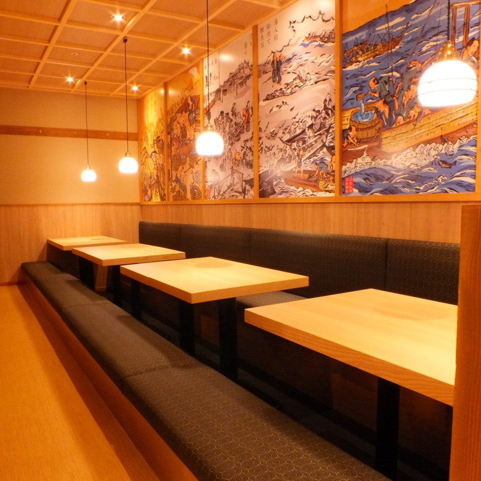 저희 퇴근길의 회식에 추천 오픈 테이블.당점의 구조가 넓은 공간 ♪ 테이블의 간격을 넓게 가지고 있기 때문에 이웃과의 비좁은 느낌이 전혀 없습니다.