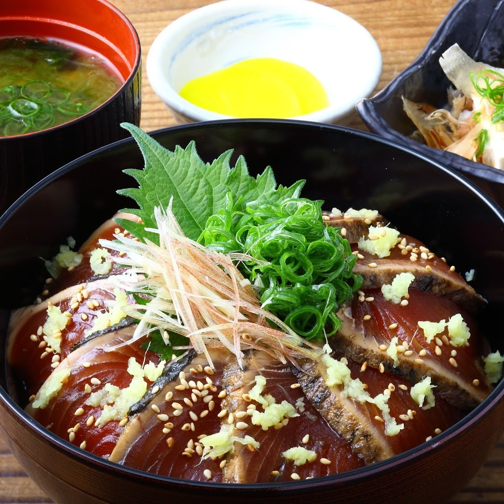 Pickled bonito and pickled bonito ★ 880 yen Lunch time 11: 30 ~ 14: 00