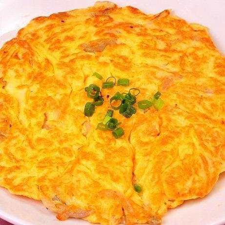 中華風玉子焼き(ザーサイ入り)
