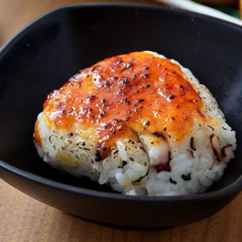 たこ入り 焼きおにぎり(醤油・味噌)