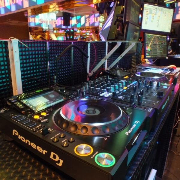 Rental fee / equipment usage fee (DJ booth · microphone · wireless LAN) 【Free】 I do not hear anything about you! Pleasant party