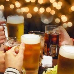 生ビール含む飲放題90分 ¥1680&120分¥1980 お料理はお好きに♪