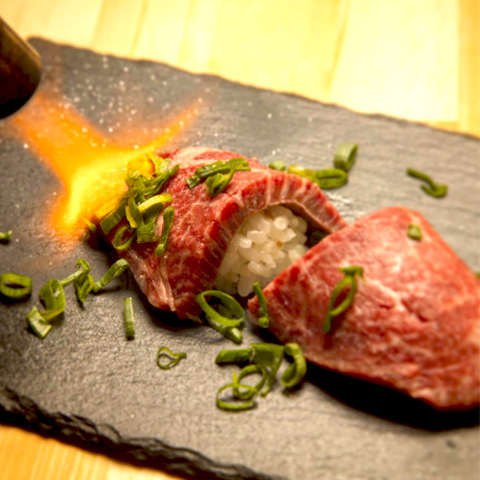 Our specialties! Omori cow's handful sushi