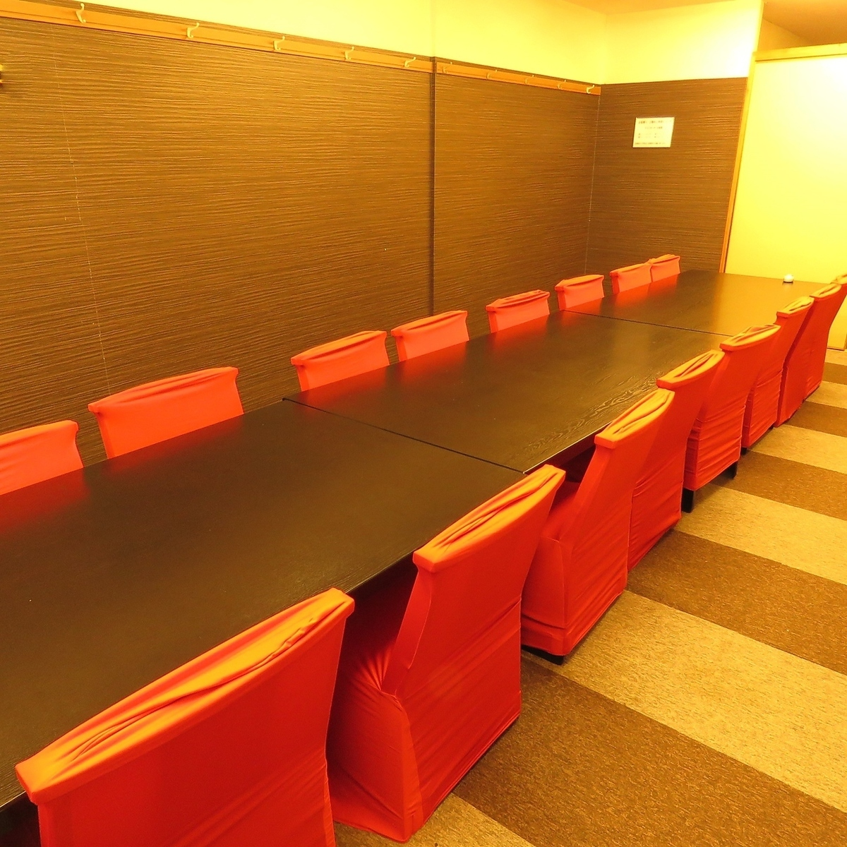 The second floor seat of Osaki.Great banquet is possible ◎