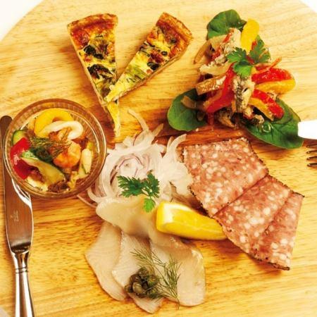 地中海前菜盛り合わせ Assorted appetizer