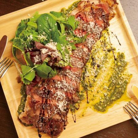 牛サーロインステーキ タリアータ  Sirloin steak tagliata(cut)