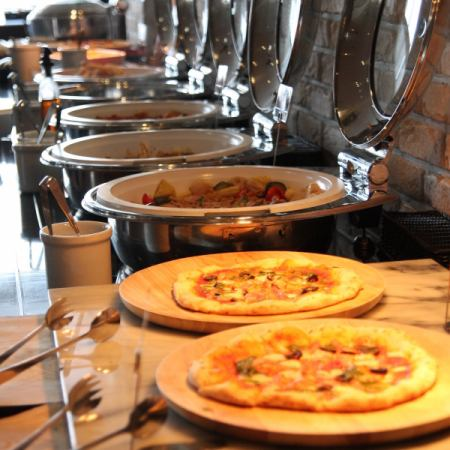 Buffet style plan More than 60 people 【Reservation required】