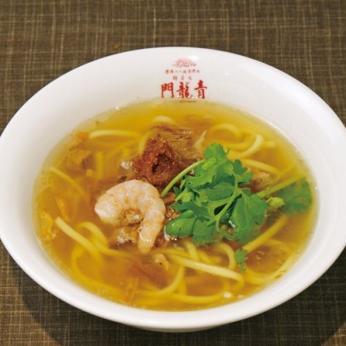 肉味噌のせ小椀麺